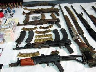 gang's guns