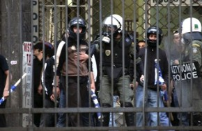 Golden Dawn 'cell' in the Municipal Police of Athens