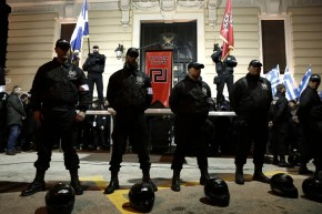 Racist, anti-semitic, violent – the true face of Golden Dawn (Channel 4video)