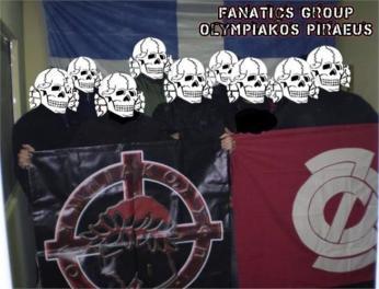 olympiakos-nazi-fans
