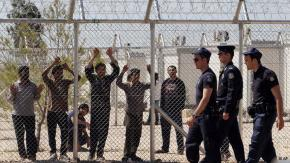 Migrant detainees go on hunger strike