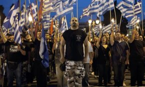 Golden Dawn: 'Greece belongs to Greeks. Long live victory!'