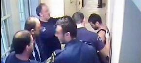 Shocking footage of the torture of Albanian inmate in Greek prison (graphiccontent)