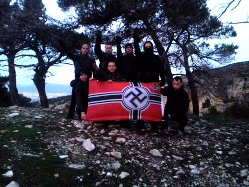 golden dawn requiem for fallen Nazis